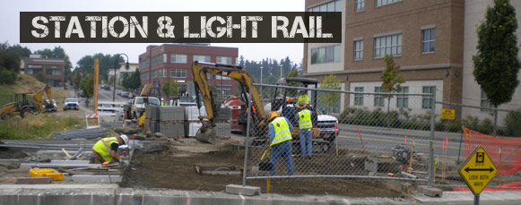 Station & Light Rail